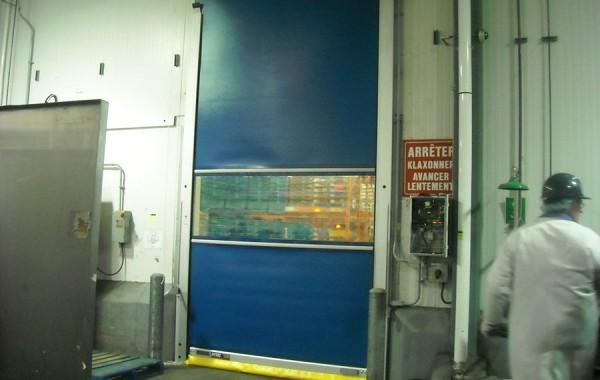 Porte rapide de réfrigérateur