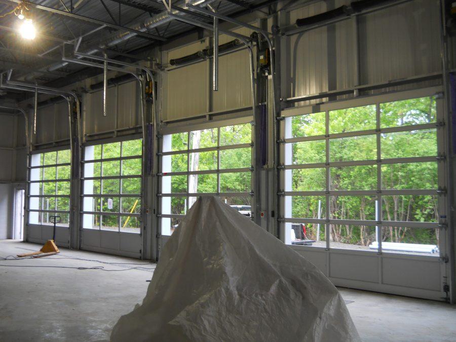 Full View Garage Door Inside Facing